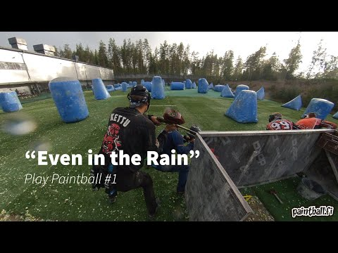 Even in the Rain - Play Paintball - #1