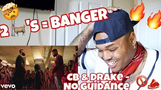 """Chris Brown ft. Drake """"No Guidance"""" (Official Video) REACTION   JessieT Tv"""