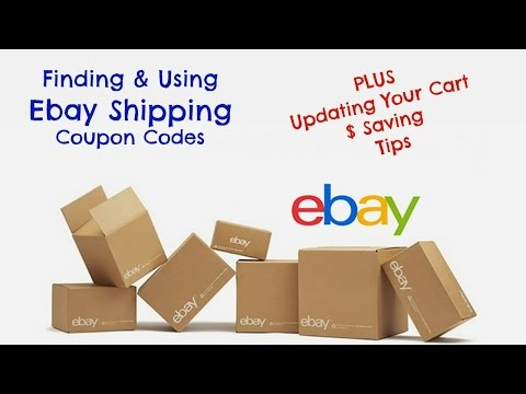 How to Find and Use Ebay Coupon Code for Supplies - Caution on Quantity Update in Cart - Ebay Boxes