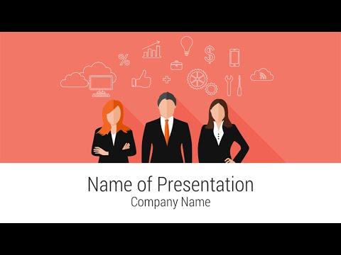 Teamwork PowerPoint Template - YouTube