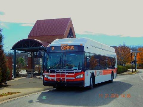 CATA Bus (State College, PA): 2011 New Flyer XN40 (CNG) #11 ~ W/ Cummins Westport ISL-G
