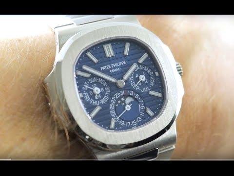 Patek Philippe Nautilus Perpetual Calendar 5740/1G-001 Patek Philippe Watch Review