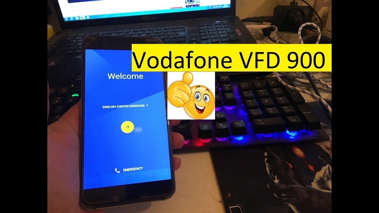 Vodafone VFD 900 FRP - Google Account Bypass for Vodafone Smart Platinum 7  VFD 900