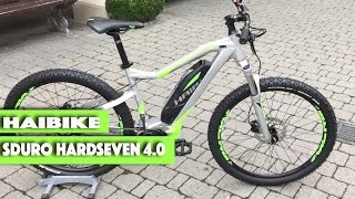 Haibike Sduro Hardseven 4.0 E-bike 2017 First preview
