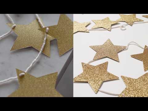 DIY|  Stars Garland