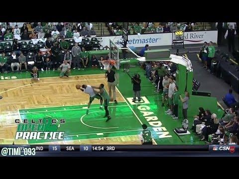Boston Celtics 2017 Open Practice Highlights: Skills Challange