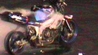 Burnouts on the rim then blowing up the motor. How to kill a Kawasaki (Ninja)