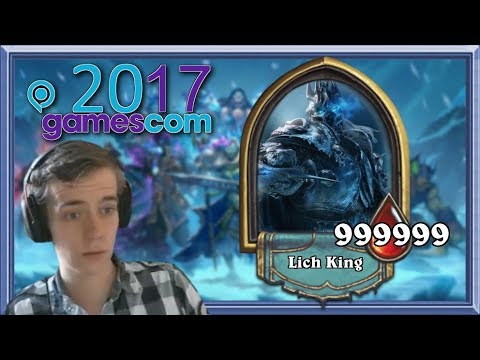 Raids Are Coming To Hearthstone! First Look From Gamescom