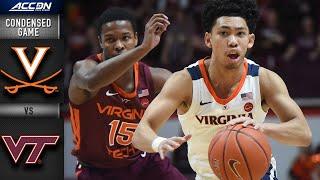 Virginia vs. Virginia Tech Condensed Game | ACC Basketball 2019-20