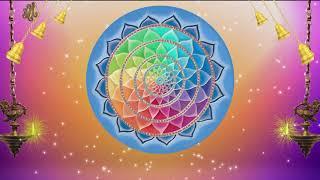 Circle in center Hanging Diyas | Background Video | Jayasindoor Motion Backgrounds