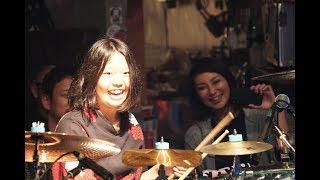 YUKI Drum Solo?14years old Birthday Live