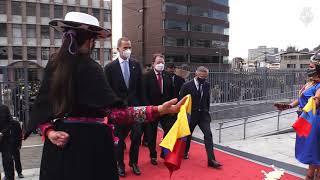 Toma de posesión del presidente de la República de Ecuador, Guillermo Lasso  - YouTube