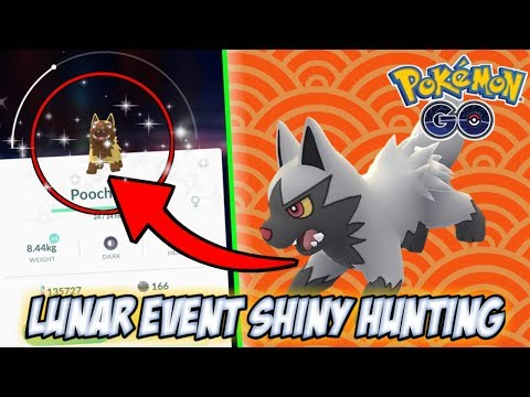LUNAR EVENT & SHINY HUNTING ON MY WAY TO WORK!!