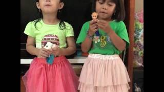 Lagu Balonku - nyanyi balonku - lagu anak anak / Crystal Jacinth nyanyi balonku