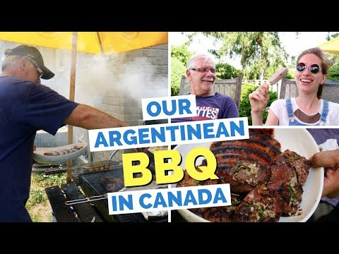 Argentinean Asado in Canada | Our Argentine Barbecue at Home
