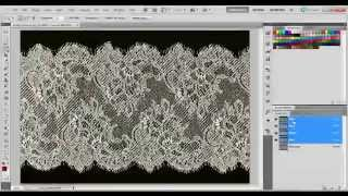 EASY Photoshop Tutorial: Extract & Remove Delicate Lace From A Background