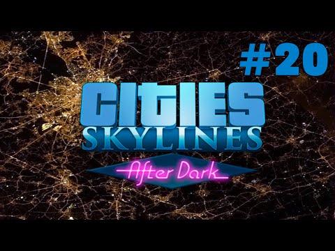 Cities Skylines -After Dark- #20 Rosewood Park