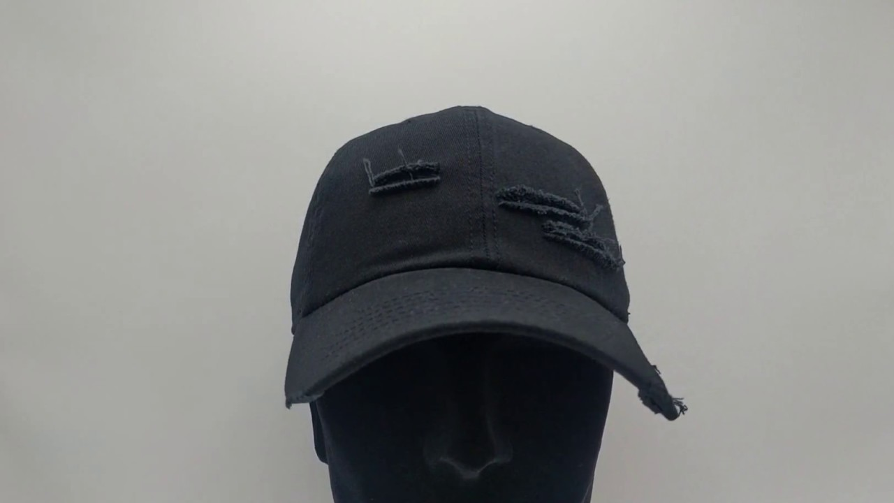 77569d73573 Cayler   Sons Ripped - Curved dad cap - black - €29
