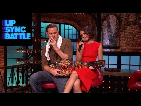 Channing Tatum & Jenna Dewan-Tatum † s Winning Moment | Lip Sync Battle
