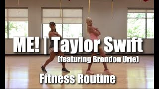 Taylor Swift - ME! (Feat. Brendon Urie of Panic! At The Disco)   Cardio Party Mashup Video