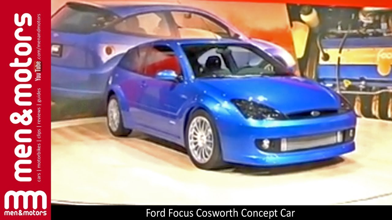 sc 1 st  YouTube & Ford Focus Cosworth Concept Car - YouTube markmcfarlin.com