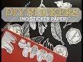 DIY STICKERS (NO STICKER PAPER)  #artobsessionbyanz