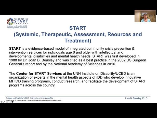 MHDD Leadership Webinar 2 - Dr. Joan Beasley