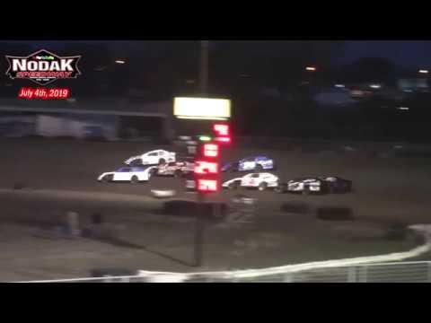 Nodak Speedway IMCA Sport Mod Dash for Cash (7/4/19)