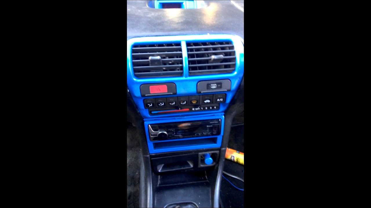 94 acura integra custom interior 3 youtube