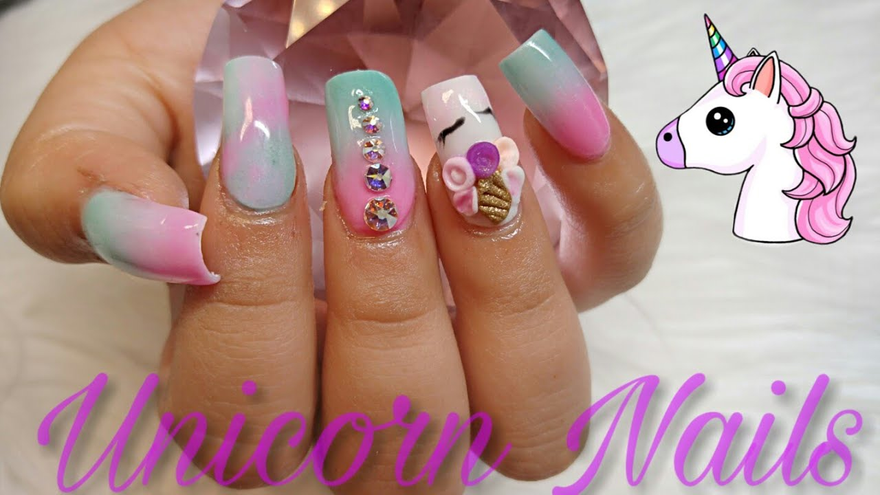 Diseños de uñas para niñas