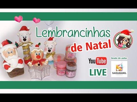 LIVE - 3 Ideias de lembrancinhas Natal /  Saramanil Corantes
