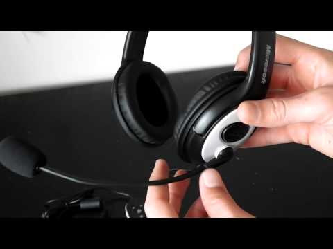 Microsoft Lifechat LX-3000 Unboxing And Audio Test