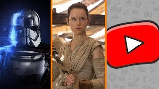 Battlefront 2 vs XP BOTS + Rey QUITTING Star Wars? + YouTube Responds to Adpocalypse - The Know