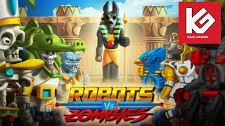 Robots Vs Zombies Transform To Race And Fight TINY LAB ANDROID GAME PLAY VIDEO