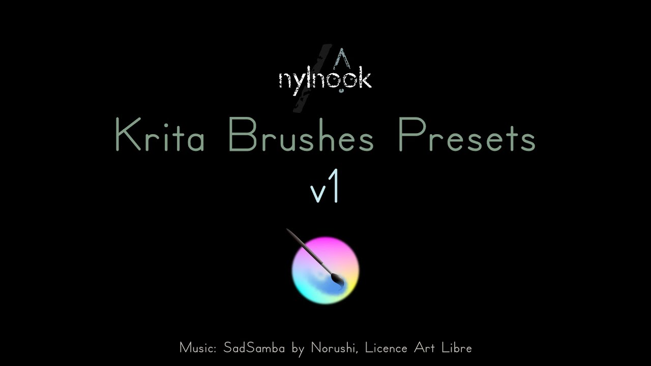 Krita Brushes Presets Pack v1 ⋆ nylnook