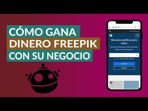 Cómo Gana Dinero Freepik con su Negocio ¡Una historia Interesante!