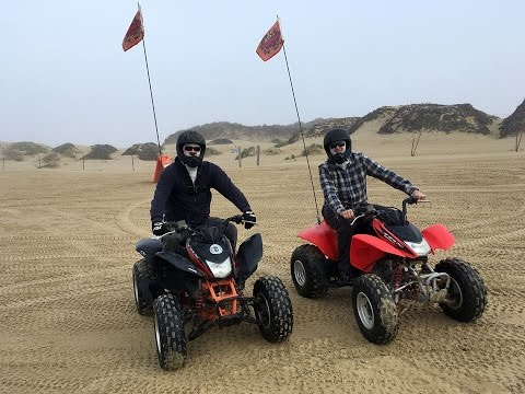 4 Wheeling On Sand Dunes In Pismo Beach