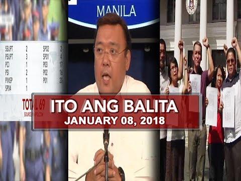Download UNTV: Ito Ang Balita (January 08, 2018)