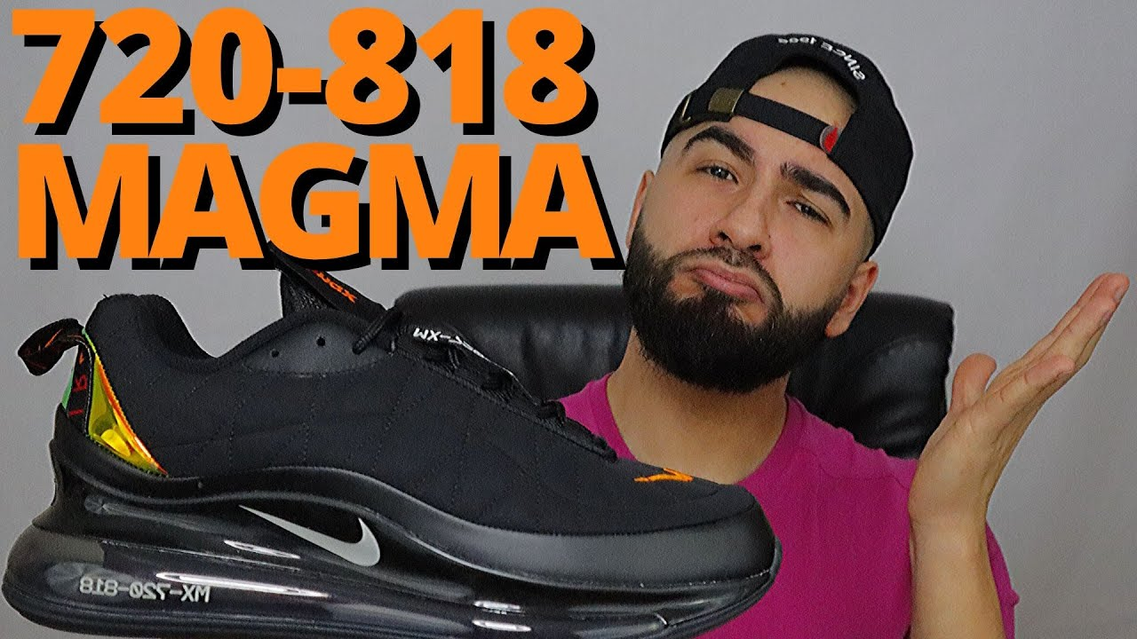 air max 720 black and orange