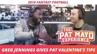 Greg Jennings has some advice for Pat before Valentine's Day