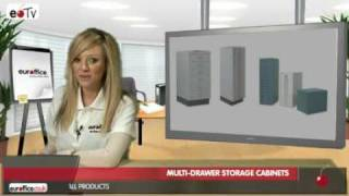 Video On Best Multi-drawer Storage Cabinets|euroffice