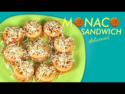 HOW to  Make  Monaco Sandwich | Tasty Starter for guest | TASTY TIME |