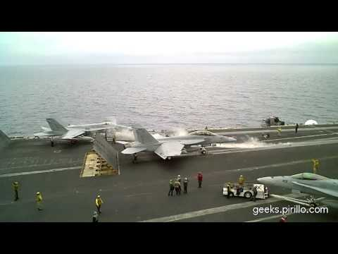 USS Nimitz Navy Aircraft Carrier Operations
