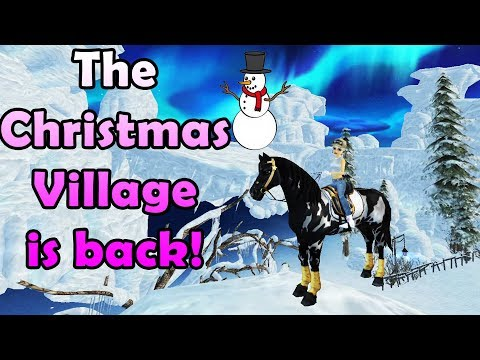 The Christmas Village Is Back! - Star Stable Online
