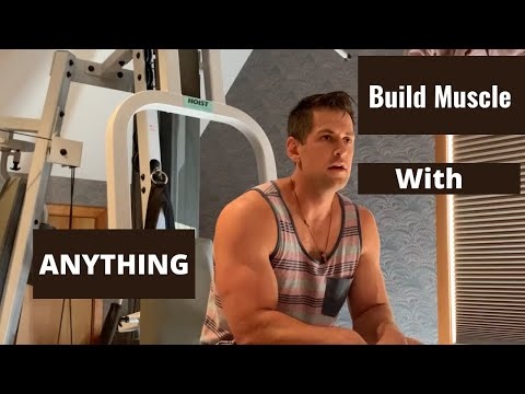 How to build muscle with limited equipment.