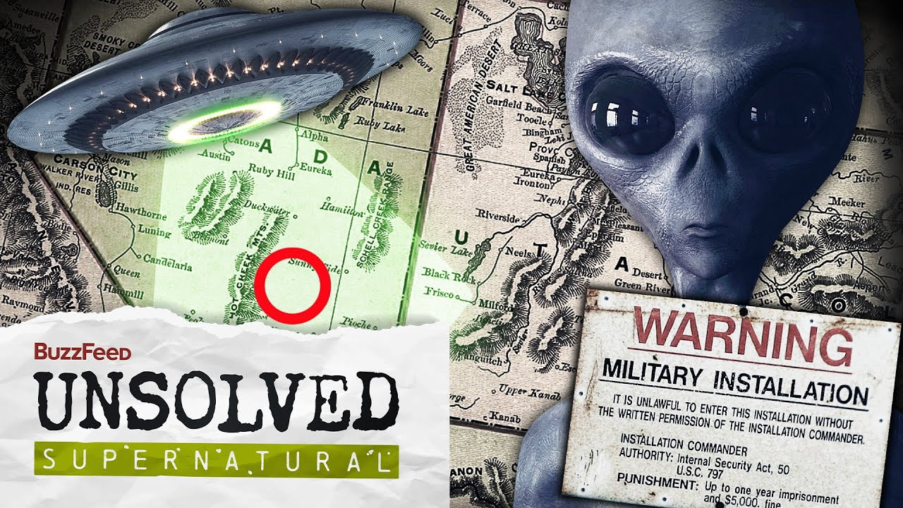 Image result for area 51 buzzfeed unsolved