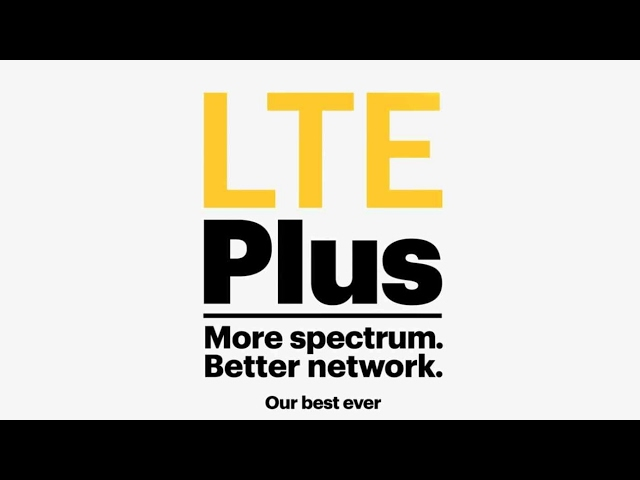 Sprint LTE plus  ( reports from sprint show them first at the Patriots parade wow )