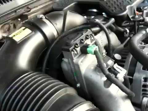 2006 Duramax LBZ EGR Gasket Leak - YouTube