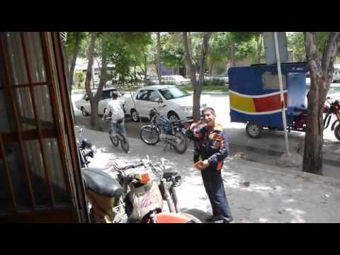 A British guy riding through Iran gives a completely amazing view about it