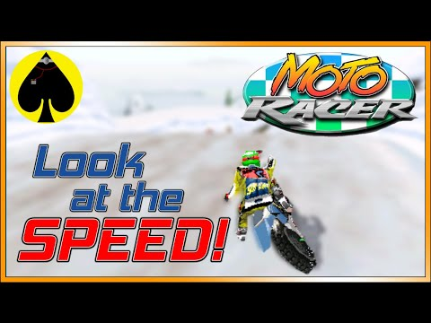 Moto Racer - Look at the SPEED! |
